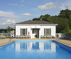 Pool, Berkley Manor Apartments