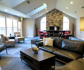 Luxurious Clubhouse and Rent-able Space - Fairfield Apartments and Condominiums in Fenton, MI, Fairfield Apartment Homes