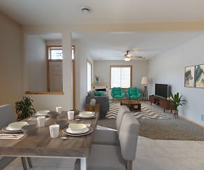 Large Dining Rooms & Fireplace In Select Units, Cascade Shores