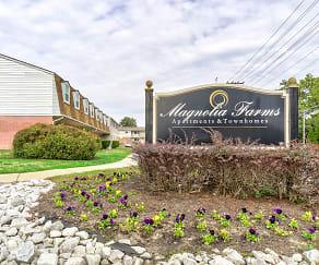 Community Signage, Magnolia Farms Apartments