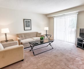 Living Room, Briarcliff Apartments