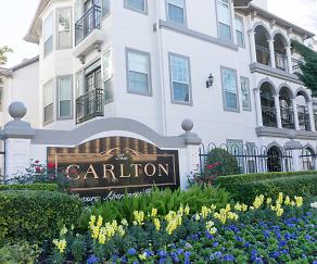 Community Signage, The Carlton Apartments
