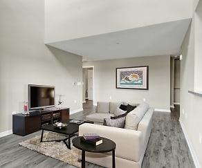Living Room, Bradlee Danvers Apartment Homes