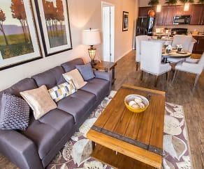 Living Room, Creekside Ranch