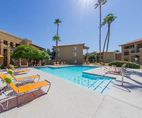 Pool, Zona Rio Apartments