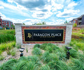 Community Signage, Paragon Place at Bear Claw Way