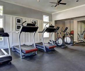 Fitness Weight Room, The Retreat at Cypress Station