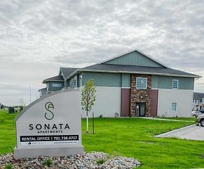 Community Signage, Sonata Apartments