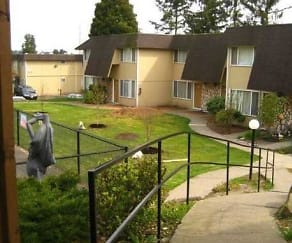 Landscaping, Park Ballinger Apartments