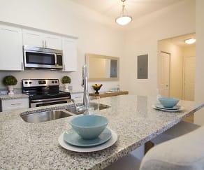 Kitchen, Lake House Apartments