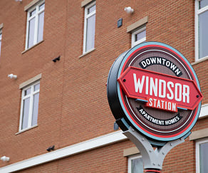 Community Signage, Windsor Station Apartments