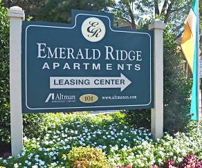 Community Signage, Emerald Ridge