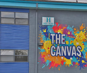 Community Signage, The Canvas Apartments