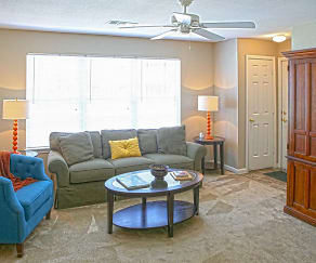 Living Room, Waterbrook Apartments