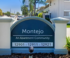 Community Signage, Montejo Apartments