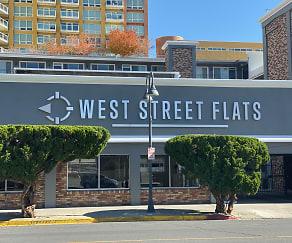 Community Signage, West Street Flats
