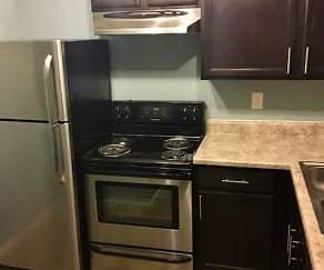 Kitchen, Meadow View Apartments