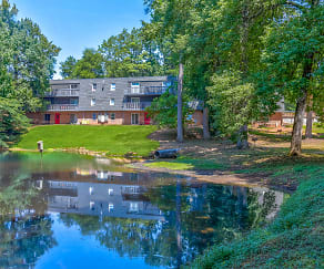 Lake, Overbrook Place Apartments