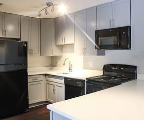 Kitchen, Fieldpointe Apartments