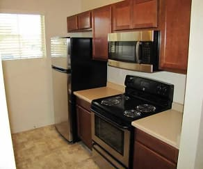 Kitchen, Brickstone Apartments on 33rd