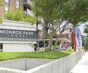 Community Signage, Monroe Park Towers