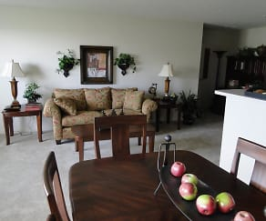 Dining Room, Stoneridge Apartments