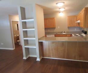 Kitchen, Royal Oaks Apartments