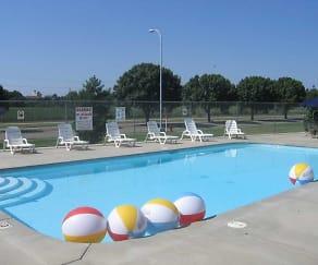 Pool, Ashley Square