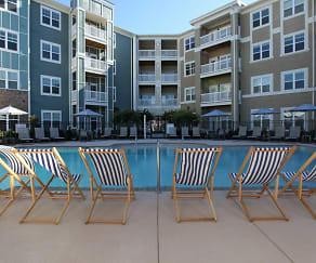 Pool, Town Center at Lake Carolina