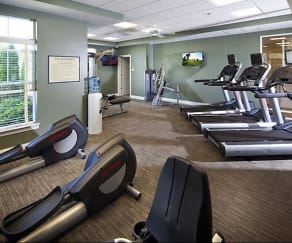 Fitness Weight Room, The Apartments at Charlestown Crossing