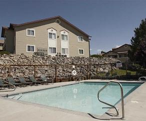 Pool, Westcreek Apartments