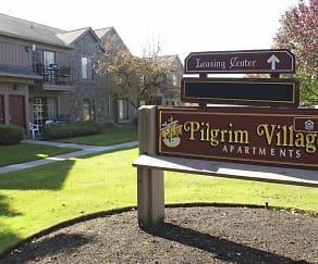 Community Signage, Pilgrim Village