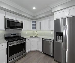 Kitchen, Fairfield Jericho Townhomes