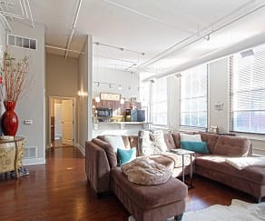Living Room, The Residences at South High