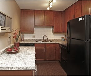 Kitchen, Westwind Apartments