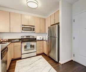 Kitchen, Flats at Atlas