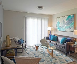 Living Room, Mountain Brook Apartments