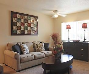 Living Room, The Trails at Rancho Vista