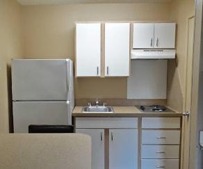 Kitchen, Furnished Studio - Denver - Aurora South