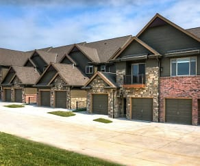 Building, Bellbrook Townhome Apartments