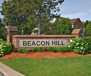 Community Signage, Beacon Hill Apartments