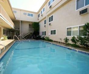 Pool, Esplanade Apartments