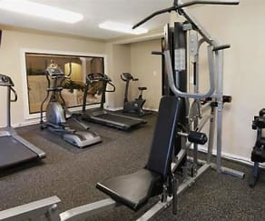 Fitness Weight Room, Plaisance Apartments