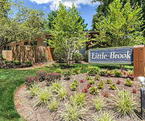 Community Signage, Little Brook Apartments