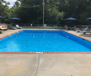 Pool, Country Club Apartments