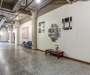 Foyer, Entryway, Kunzelmann-Esser Lofts