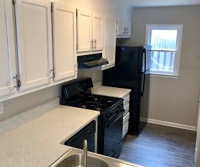 Kitchen, Residences at Belmont