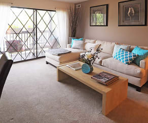 Living Room, Timber Ridge Apartments-Legacy