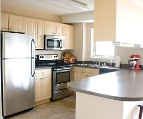 Kitchen, Hamilton Place Luxury Apartments