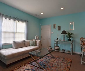 Living Room, Church Street Apartments